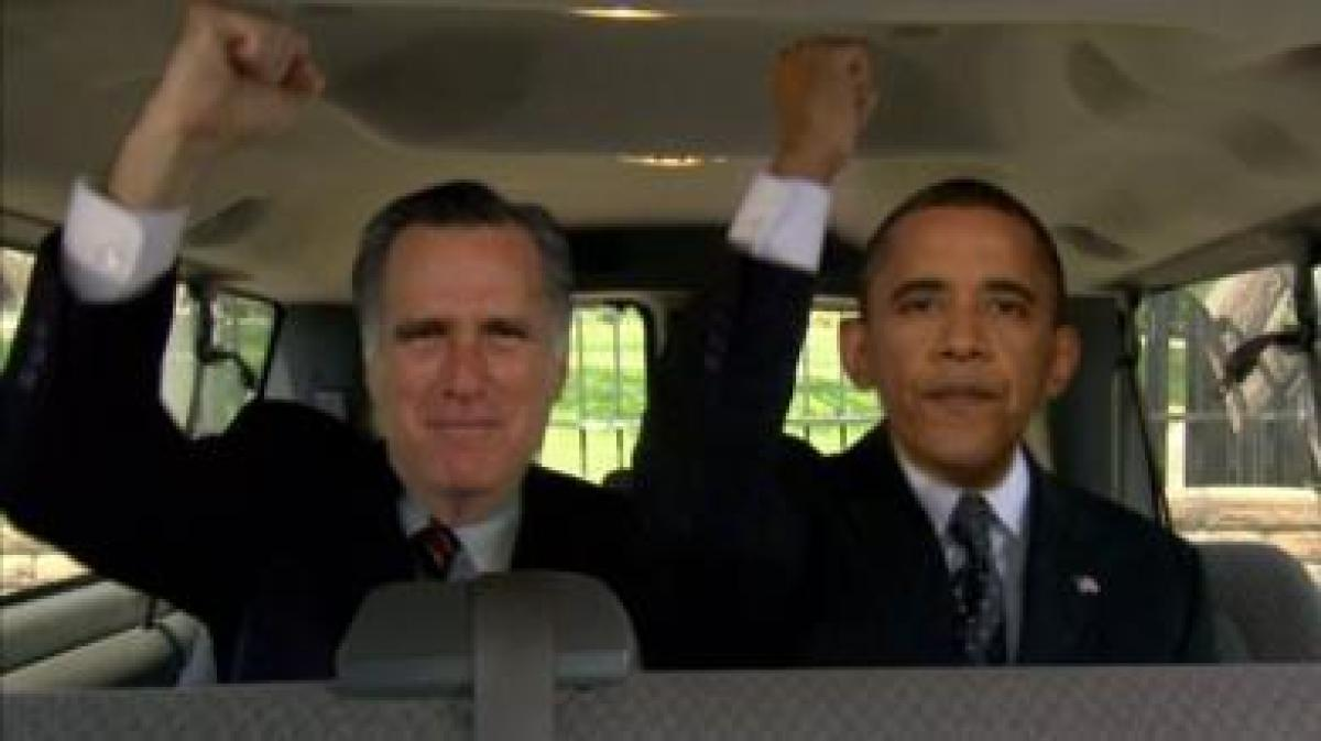 "President Obama and Mitt Romney get in on one of the latest <a href=""http://theweek.com/article/index/228204/call-me-maybe-th"