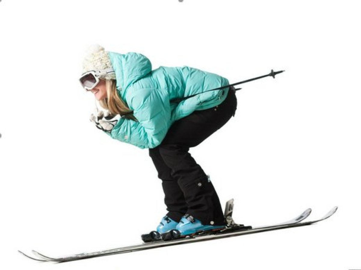 """<strong>""""I gave up skiing. I was really bad at it and didn't enjoy it enough to put in the energy and time it would require ("""