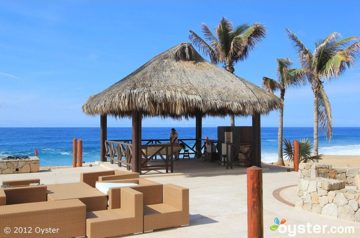 Grand Solmar's spa overlooks the ocean at Land's End Terrace and features beachside massage cabanas. It offers a long list of