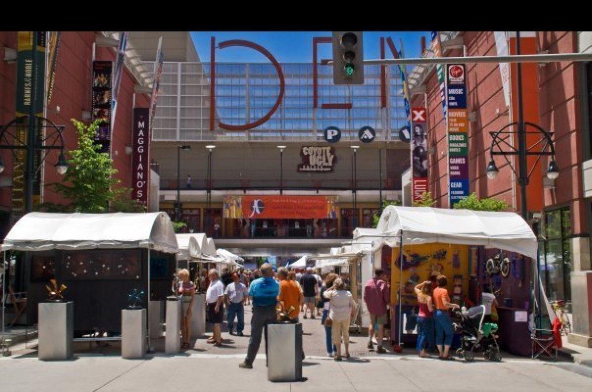 "Catch the last day of the<a href=""http://www.downtowndenverartsfestival.com/"" target=""_hplink""> Downtown Denver Arts Festival"