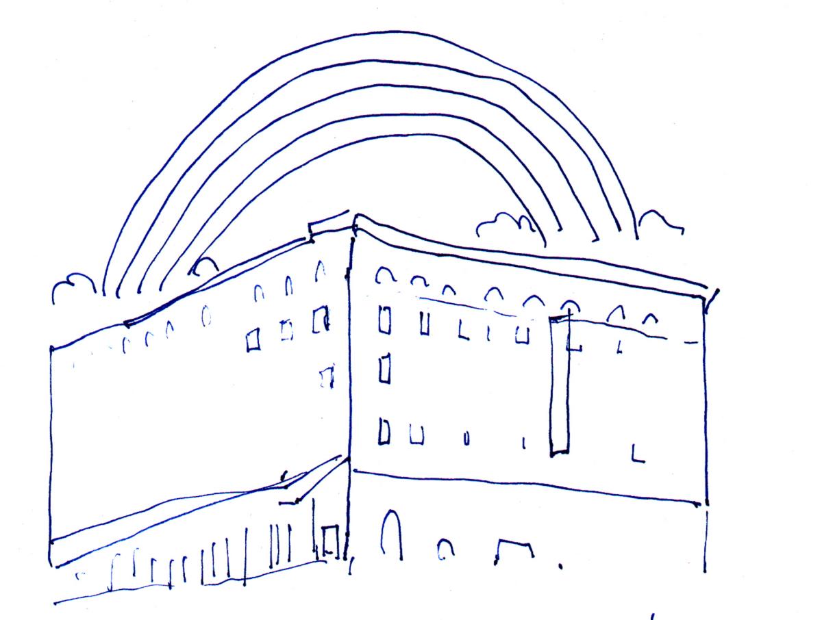 The Rainbow Concept Sketch, Michael Jones McKean.