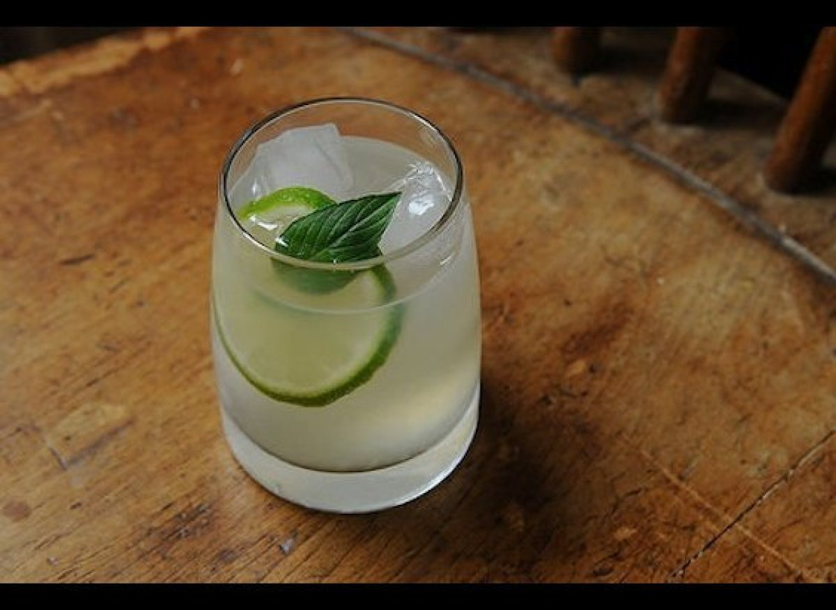 """I hate tonic so I drink my gin with lime juice. -- Giulia Melucci <br><em><strong><a href=""""http://food52.com/recipes/417_gin"""