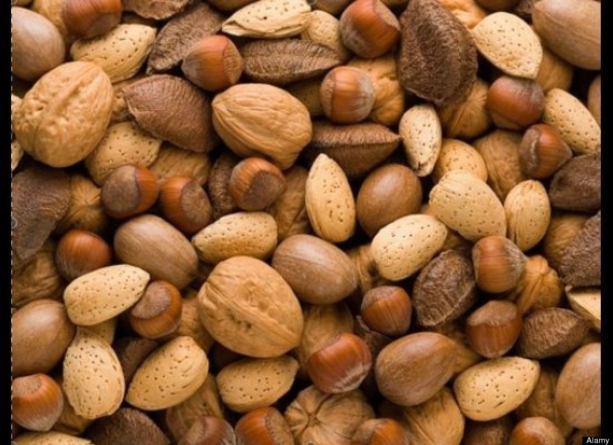 """Everyone always thinks of vegetables and fruits and whole grains when they think of high-fiber foods, but nuts are very impa"