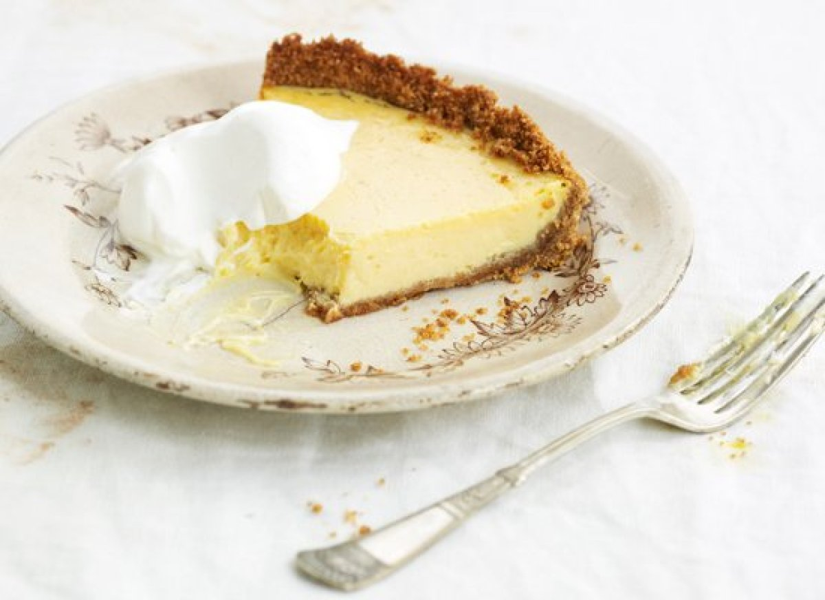 There's nothing better than a classic ice box pie for dessert. This recipe has a graham cracker base and a lemon filling made