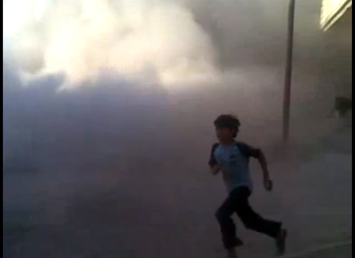 This frame grab made from an amateur video provided by Syrian activists on Monday, May 28, 2012, purports to show the massacr