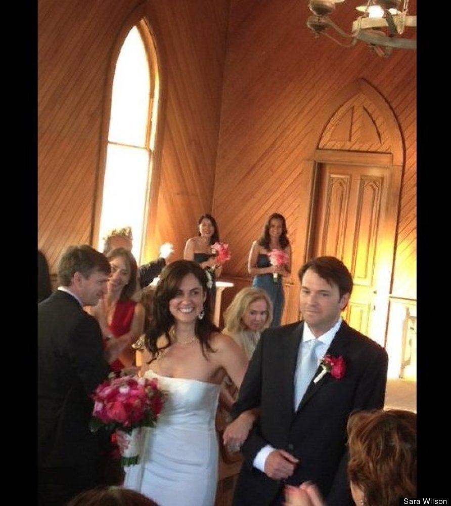 From Sara Wilson, senior editor of HuffPost Weddings and HuffPost Divorce: Dawn and Stephen, in Tiburon, California