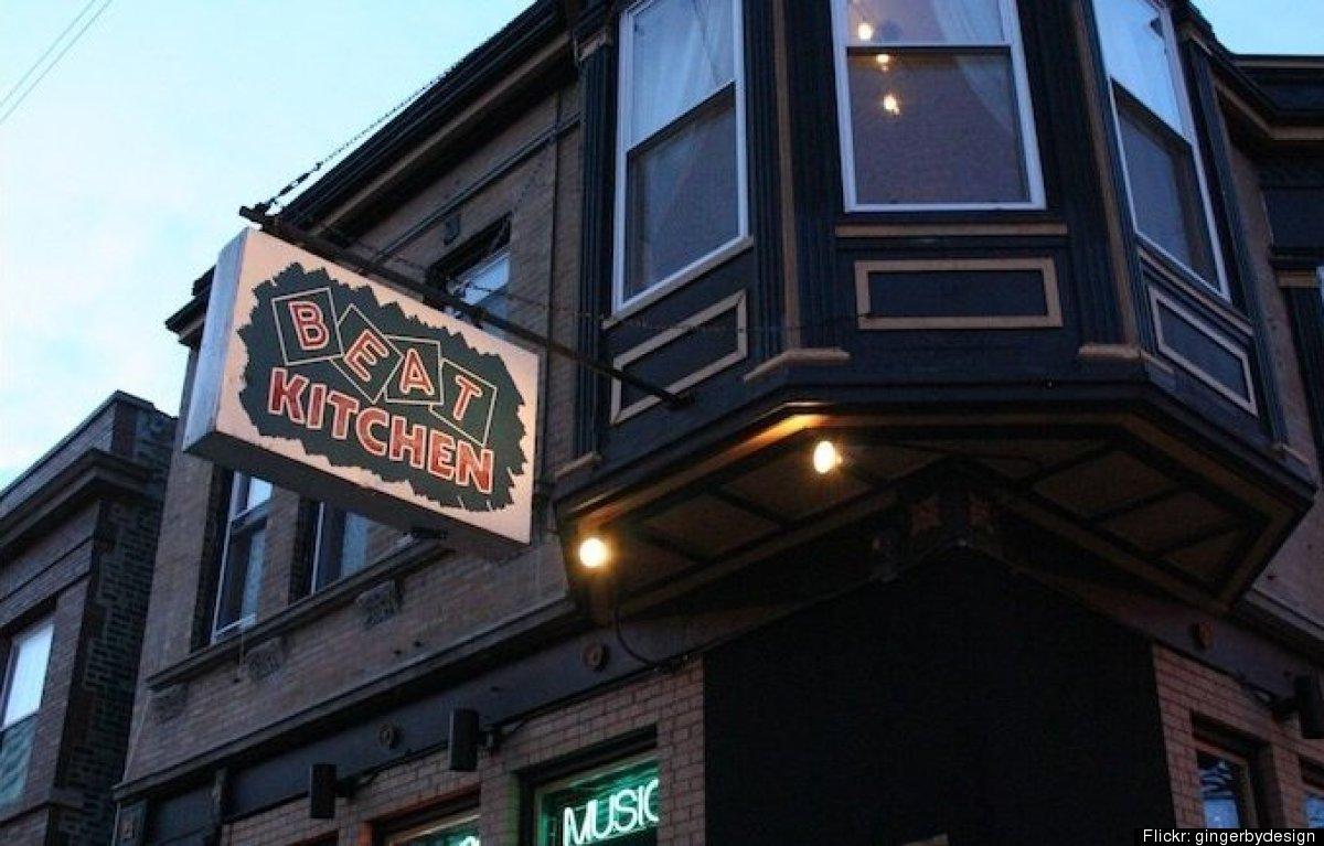 "<a href=""http://www.beatkitchen.com/"" target=""_hplink"">Beat Kitchen</a> 2100 W. Belmont Ave."