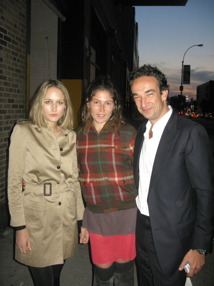 LeeLee Sobieski, Stella Schnabel & Olivier Sarkozy.  (PMc photo)