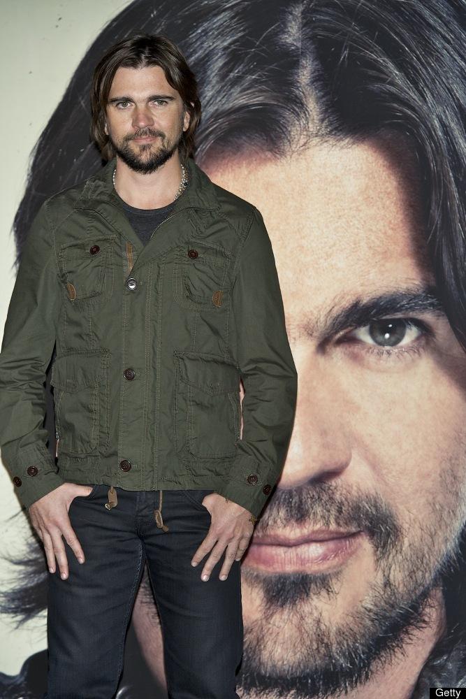 MADRID, SPAIN - MAY 08:  Colombian singer Juanes presents his new album 'Juanes MTV Unplugged' at Circulo de Bellas Artes on