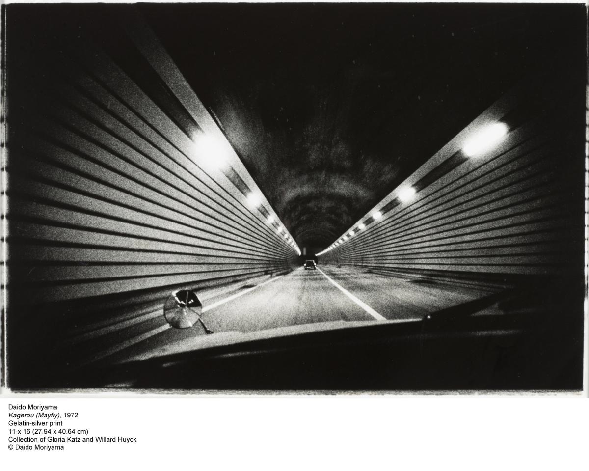 "Daido Moriyama ""Michinoku New Year"" 1970, printed 2005 Courtesy of Gloria Katz and Willard Huyck"