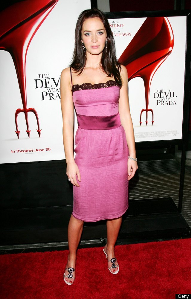 NEW YORK - JUNE 19:  Actress Emily Blunt attends the 20th Century Fox premiere of The Devil Wears Prada at the Loews Lincoln