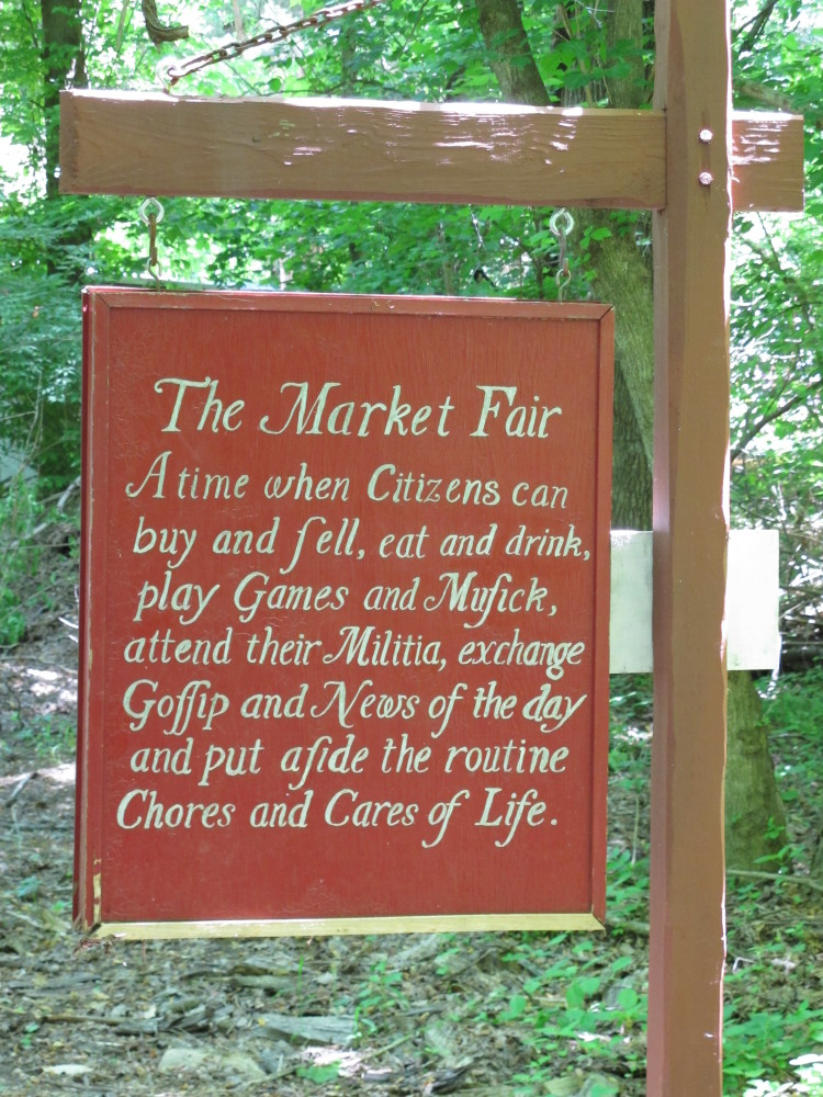 According to Farm Director Anna Eberly, the current market fair tradition started in 1982 because the farm had more skilled v