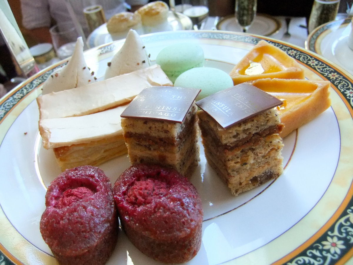 On Facebook, Sarah Florie recommended the Peninsula's French macarons. <br><em>108 E. Superior St., Chicago</em><br> Photo: