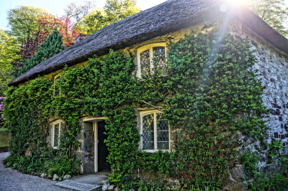 """There's nothing ornate or overly spectacular about this cottage, which is located on the <a href=""""http://www.nationaltrust.or"""