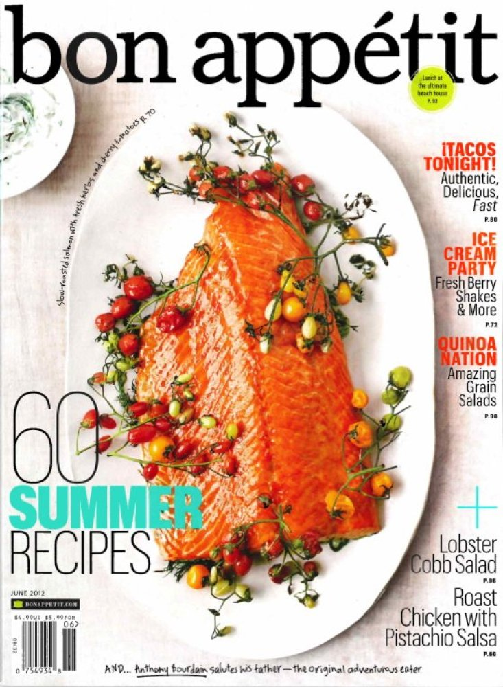 """<em>Bon Appetit's</em> June issue really felt like summer. Their reminder of the classic, low-clean-up technique of <a href="""""""