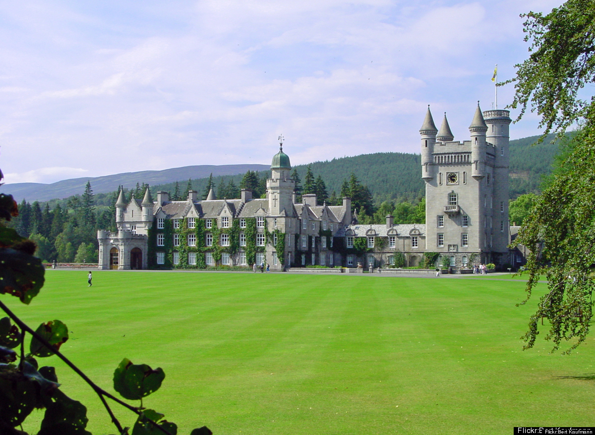 When Queen Victoria and Prince Albert visited the Highlands in 1842, they fell in love with the area and wanted to build a ho