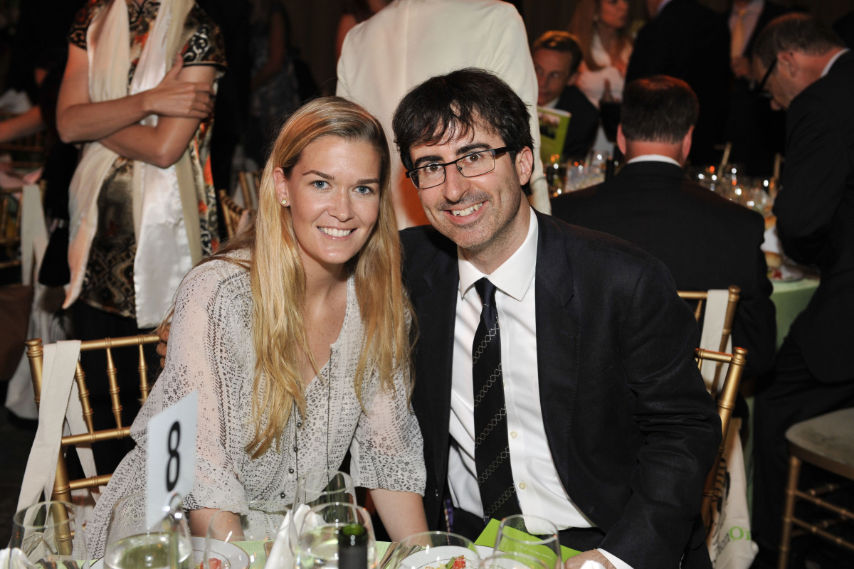 Kate Norley, John Oliver  GenerationOn's Annual Benefit Honors Lauren Bush Lauren and Gary Knell 583 Park Avenue, NYC • Ma