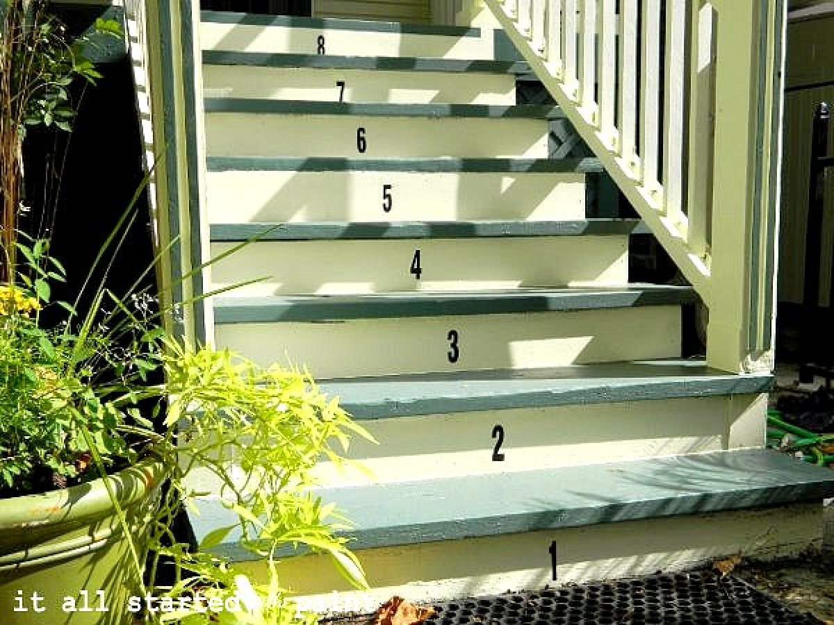 If the front of your home looks a little drab, your stoop may be the culprit. But don't fret, it just needs a little paint an