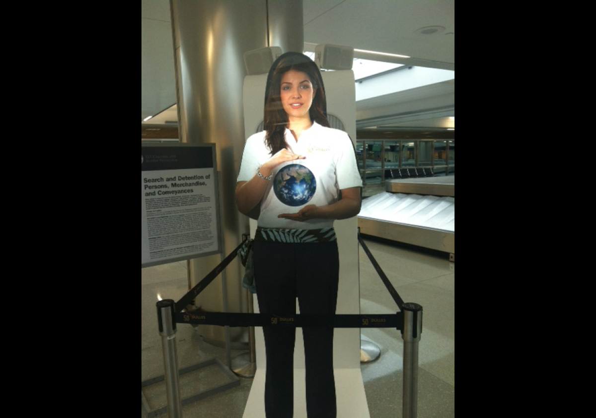The Dulles International Airport is testing out Paige for a three-month trial.