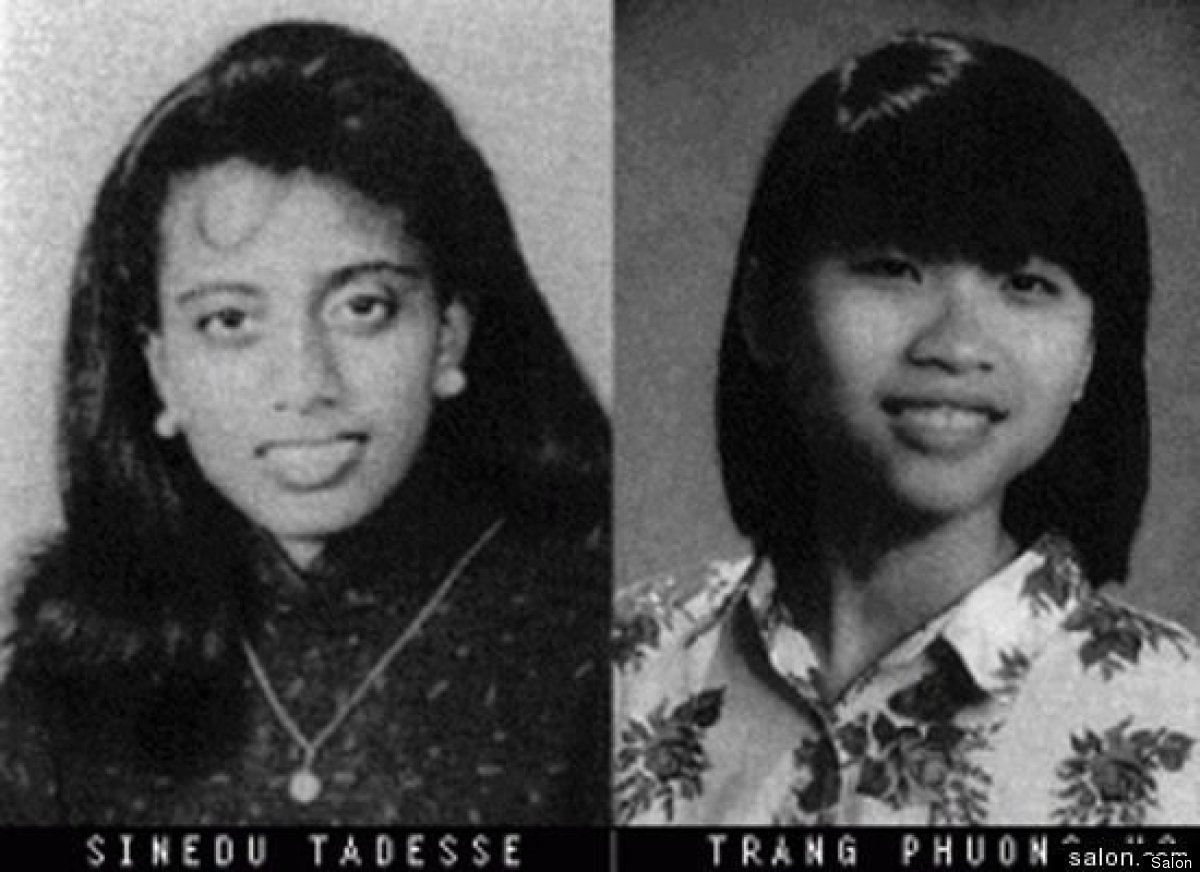 In 1995, Sinedu Tadesse, a Harvard junior from Ethiopia, stabbed her roommate, Vietnamese student Trang Phuong Ho, 45 times a