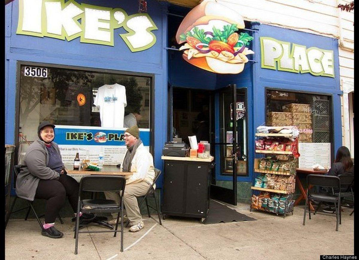 "San Francisco's favorite sandwich shop, <a href=""http://ilikeikesplace.com/"" target=""_hplink"">Ike's Place</a>, is spreading l"
