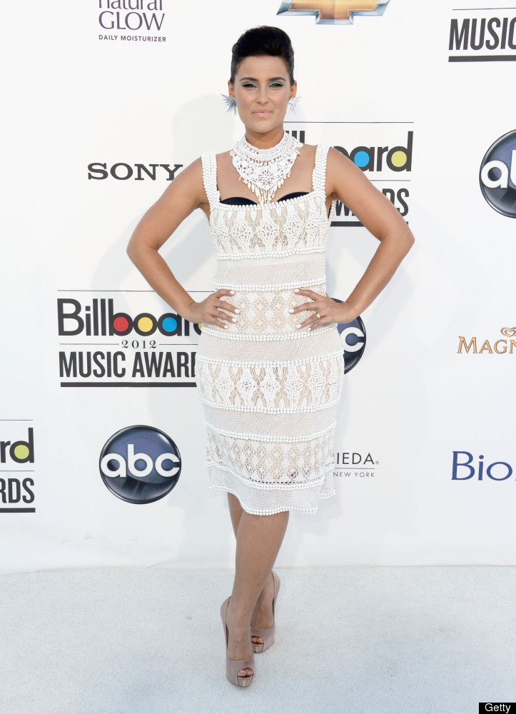 LAS VEGAS, NV - MAY 20:  Singer Nelly Furtado arrives at the 2012 Billboard Music Awards held at the MGM Grand Garden Arena o