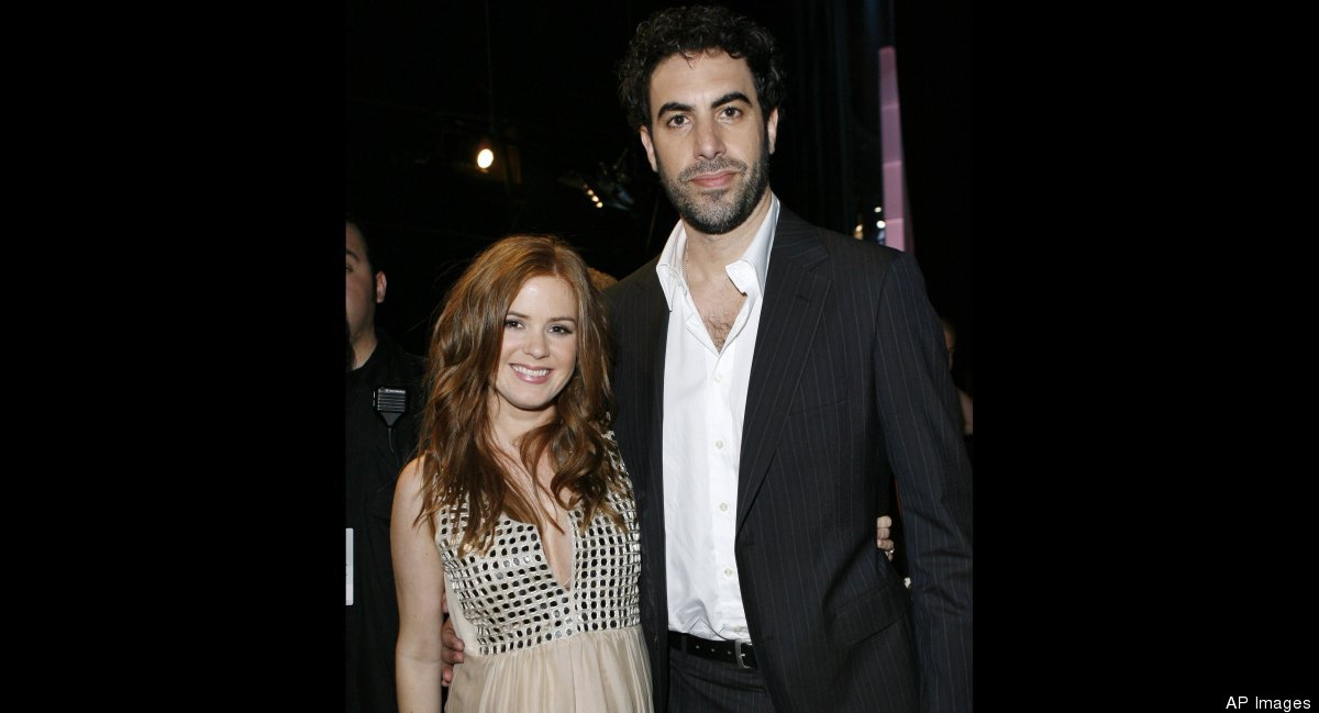 It might seem like comedian Sacha Baron Cohen is all about laughs, but he took his relationship with Australian actress Isla