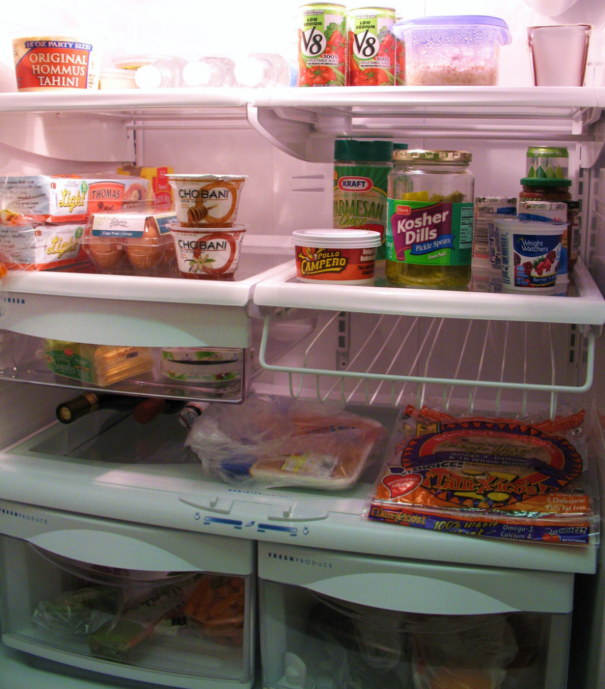 The refrigerator is a safe place for defrosting, but it requires planning. Even just a pound of ground beef may require a ful