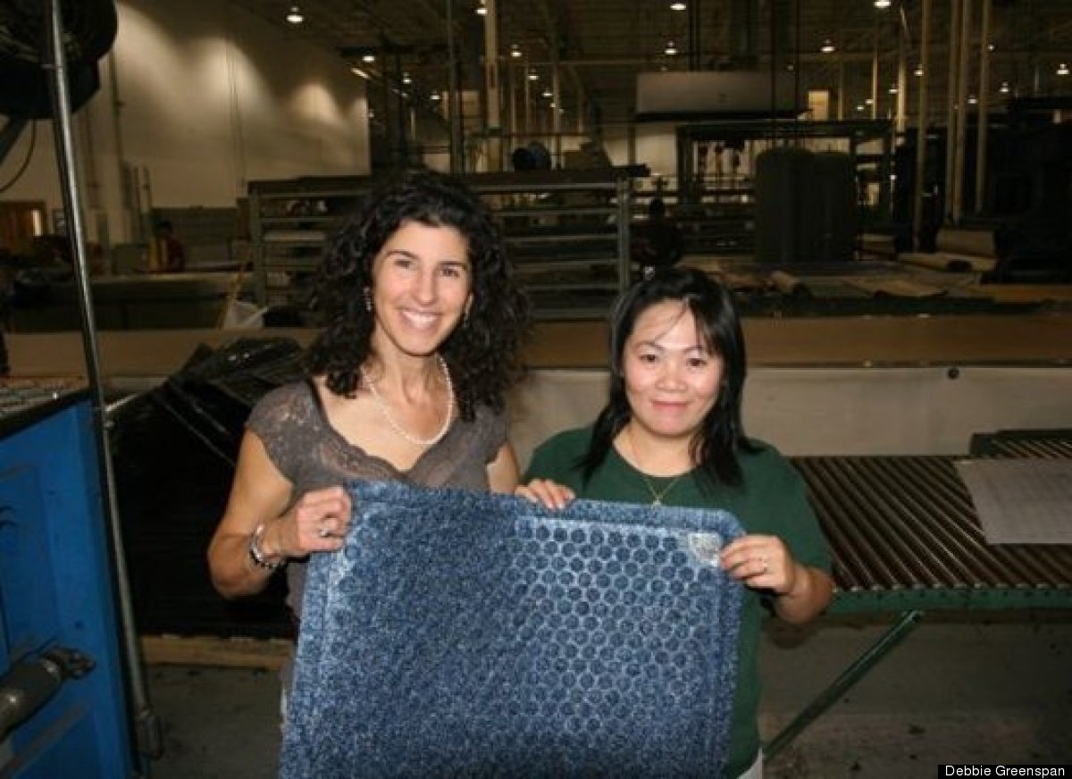 Dr. Doormat, the first antimicrobial treated doormat for the home, is produced with eco-friendly materials at a manufacturing