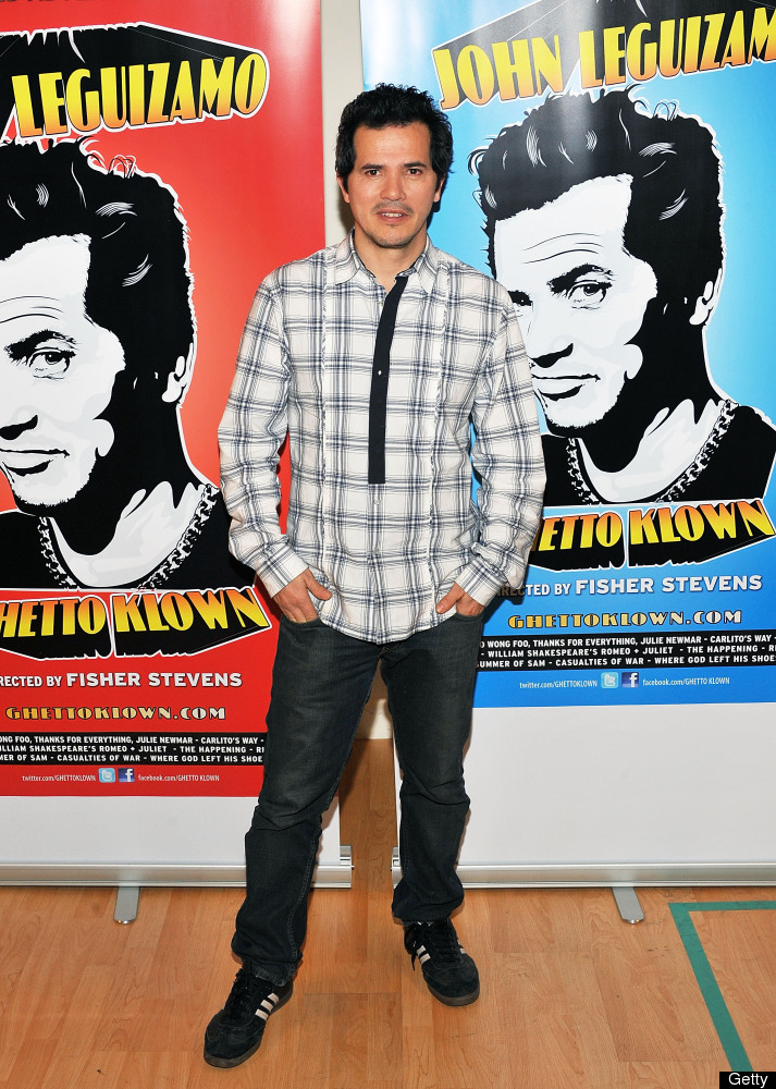 NEW YORK, NY - JANUARY 25:  Actor John Leguizamo attends 'Ghetto Klown' Broadway cast photocall at The Snapple Theater Center