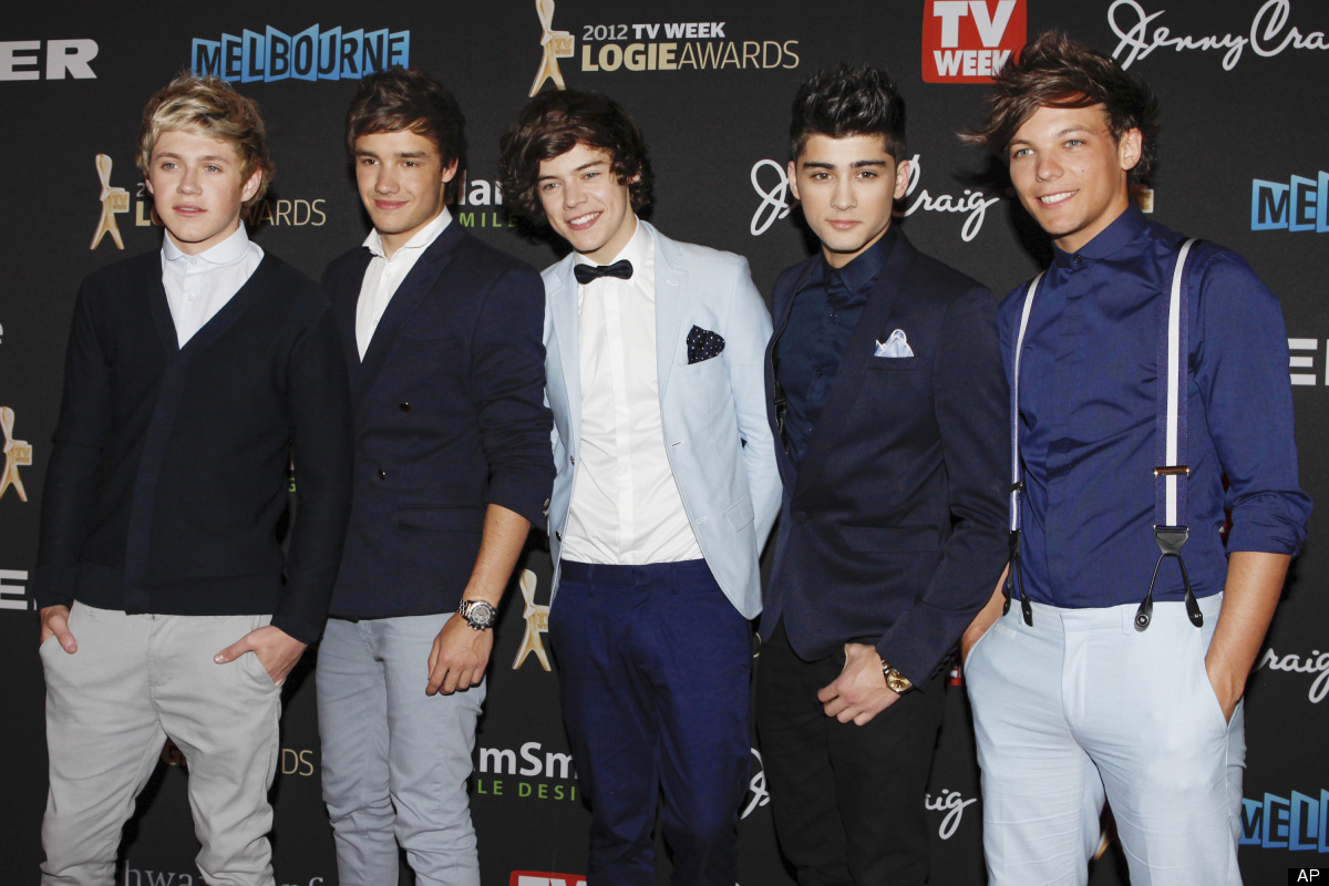 Accessories make the man. One Direction is a big fan of preppy add-ons like bow-ties, suspenders, and pocket squares.