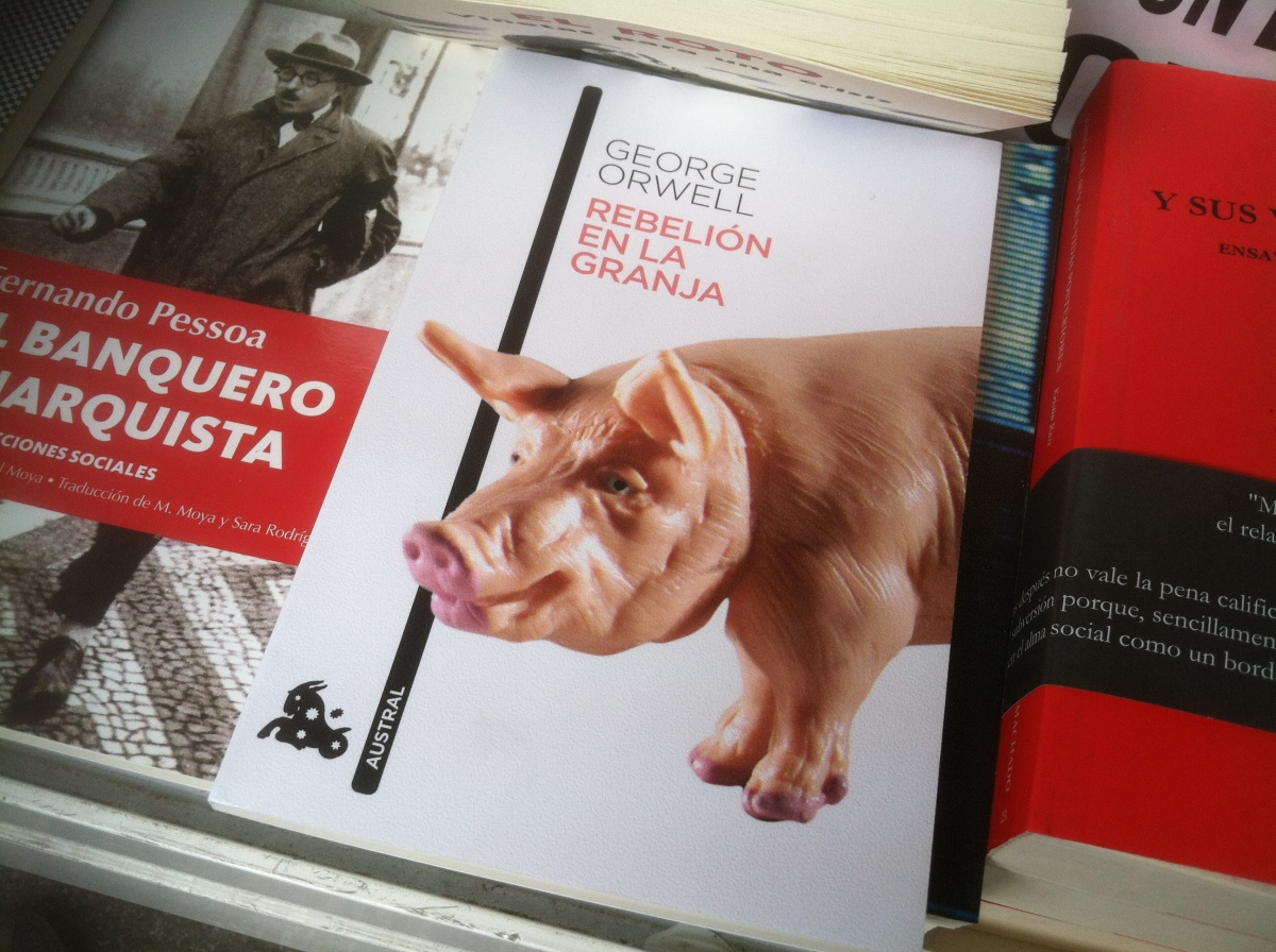 """Animal Farm"" (literally ""Revolution on the farm"")"