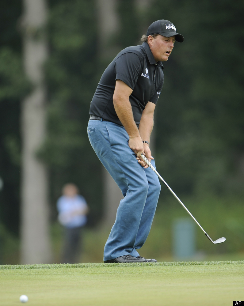 Phil Mickelson has been playing the U.S. Open for 20 years, and all he has to show for it is a silver medal.