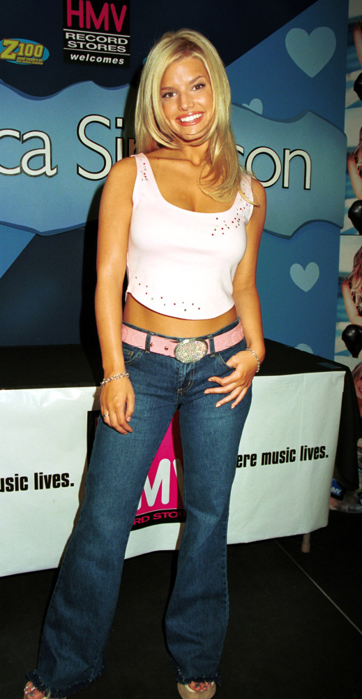 Jessica Simpson, 2000. Getty.