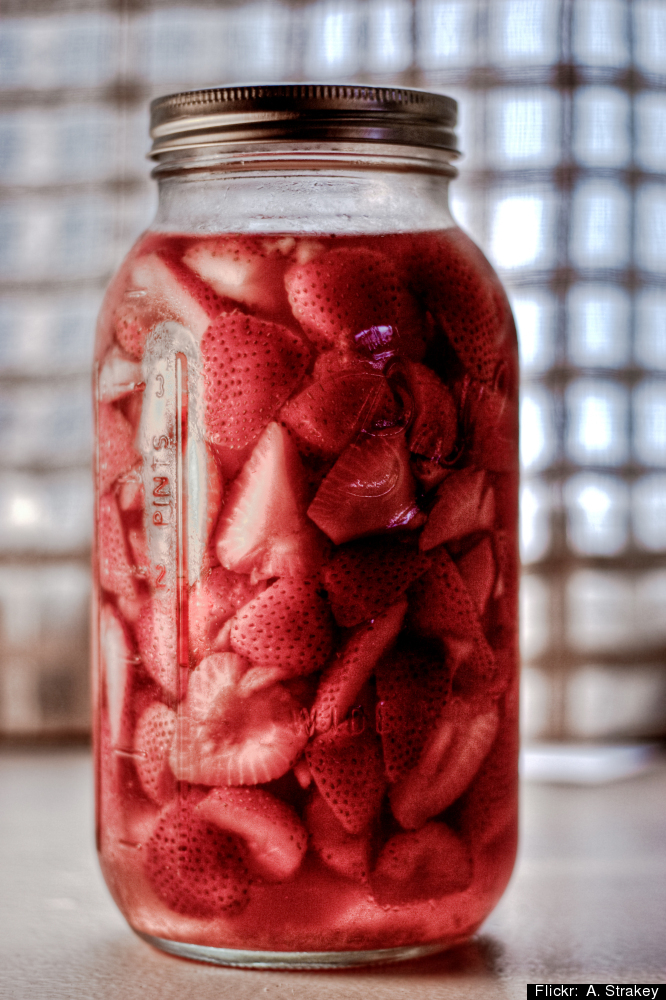 "Reuse your glass jars for everything from <a href=""http://earth911.com/news/2011/09/07/10-reuse-ideas-for-food-packaging/4/"""
