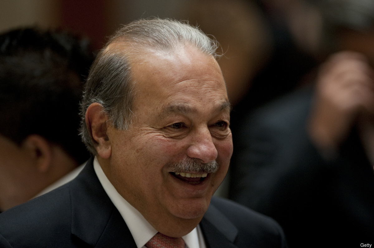 <strong>Net Worth: $69 Billion</strong><br> Carlos Slim -- a Mexican telecommunications tycoon -- employs most of his six ch