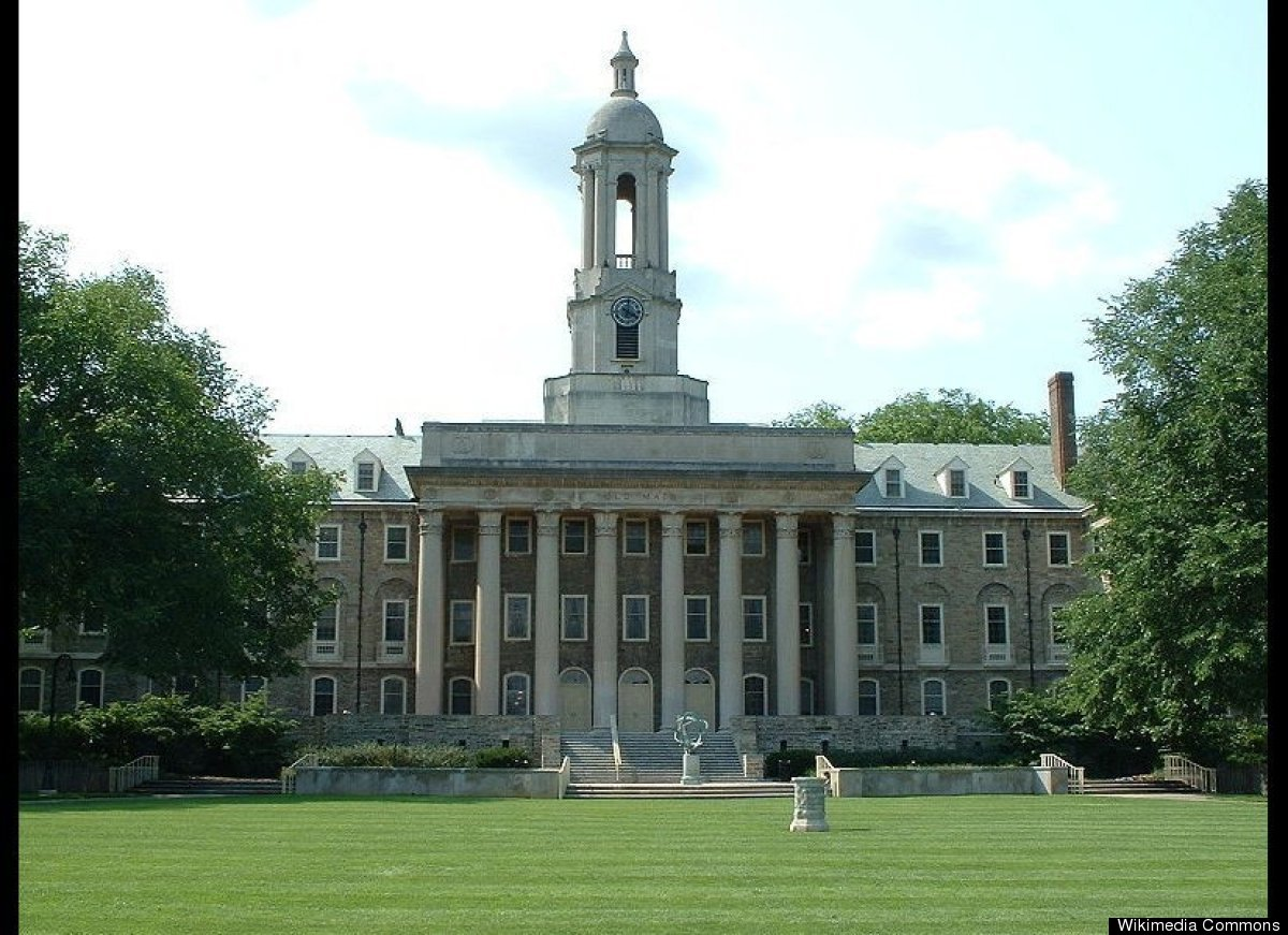 "Photo Credit: <a href=""http://en.wikipedia.org/wiki/File:Penn_state_old_main_summer.jpg"" target=""_hplink"">George Chriss</a>"