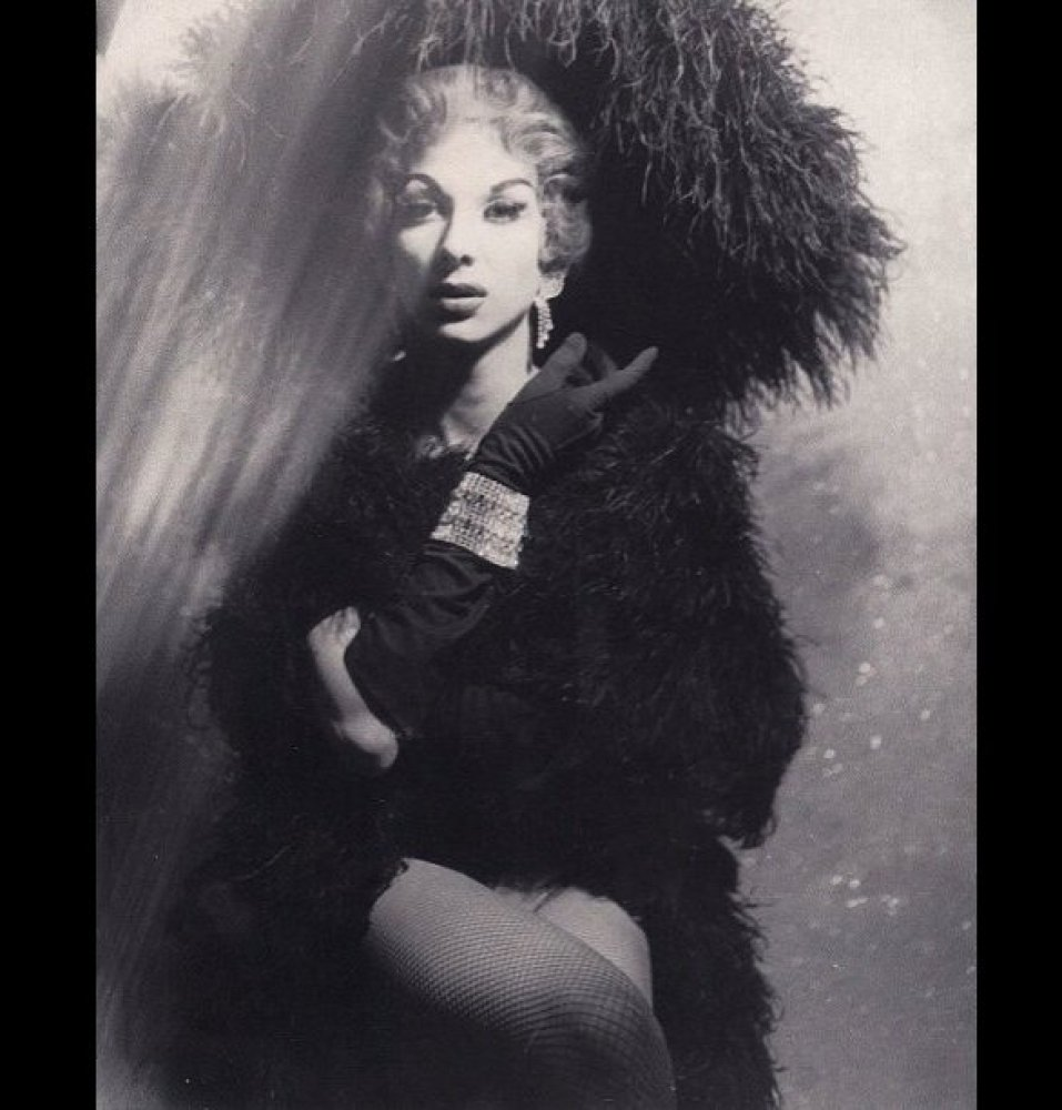 """This picture was Tobi's """"audition photo"""" for the legendary Jewel Box Revue, circa 1956"""