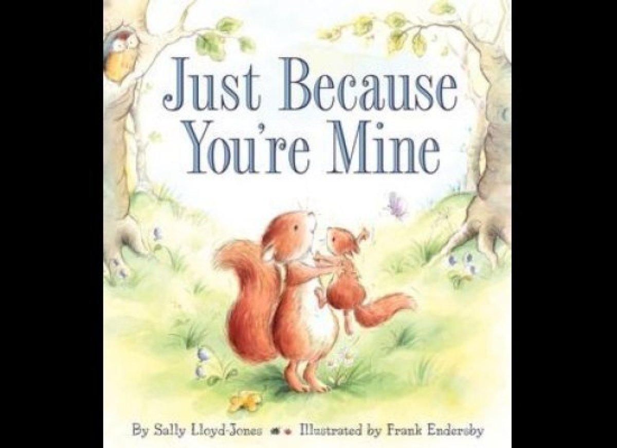 I love this sweet story about a squirrel and his dad. Little Red Squirrel really wants to know why his dad loves him so much.