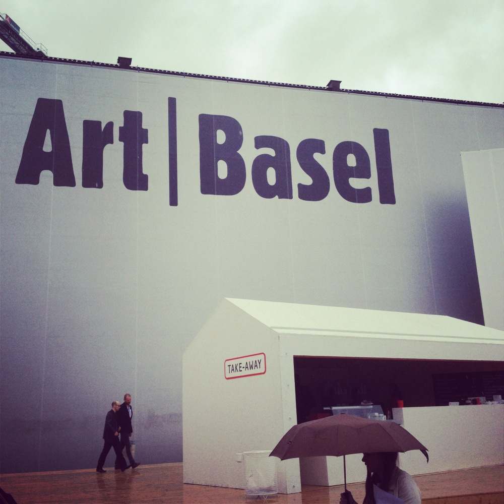 First preview day of Art Basel