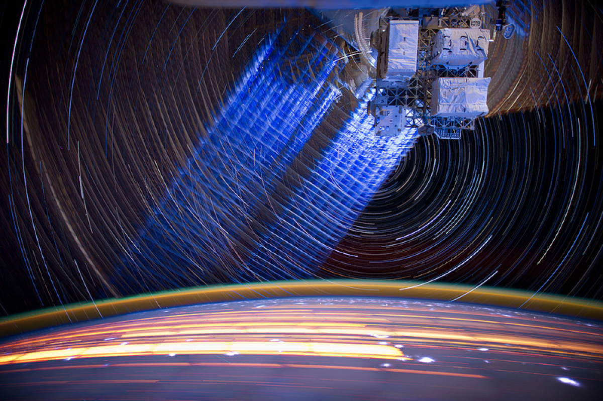 TIme Lapse Photography By Astronaut Don Pettit