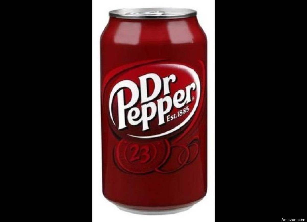 """A 12-ounce can clocks in at <a href=""""http://www.drpepper.com/text/products/drpepper/nutrition/"""" target=""""_hplink"""">150 calories"""