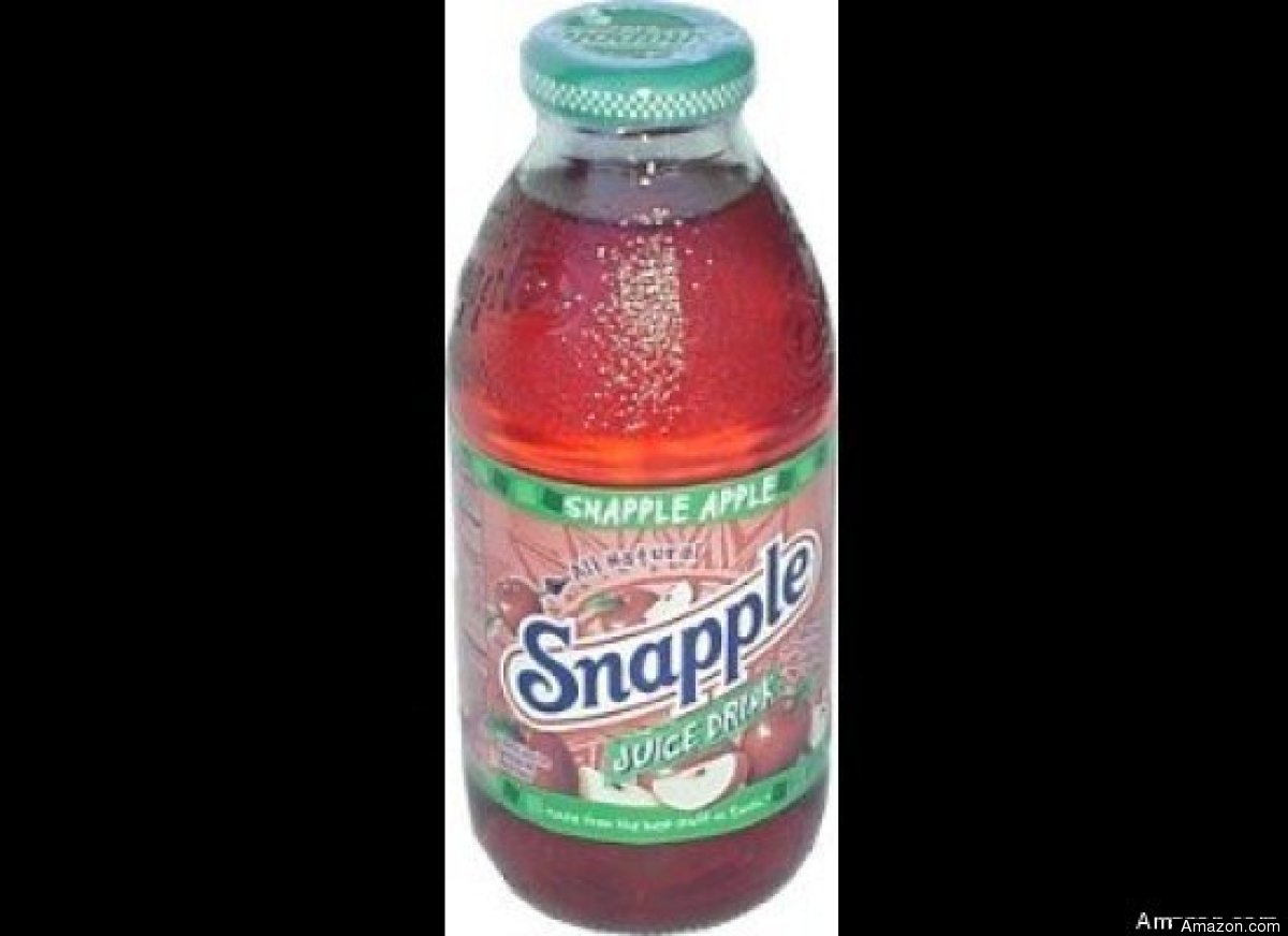"""There are <a href=""""http://www.snapple.com/#/products/Snapple Apple"""" target=""""_hplink"""">100 calories in every 8 ounces</a> of th"""