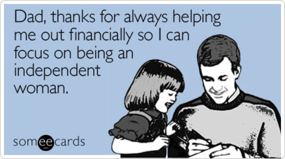 """<a href=""""http://www.someecards.com/fathers-day-cards/dad-thanks-for-always-helping-me-out-financially"""" target=""""_hplink"""">To se"""