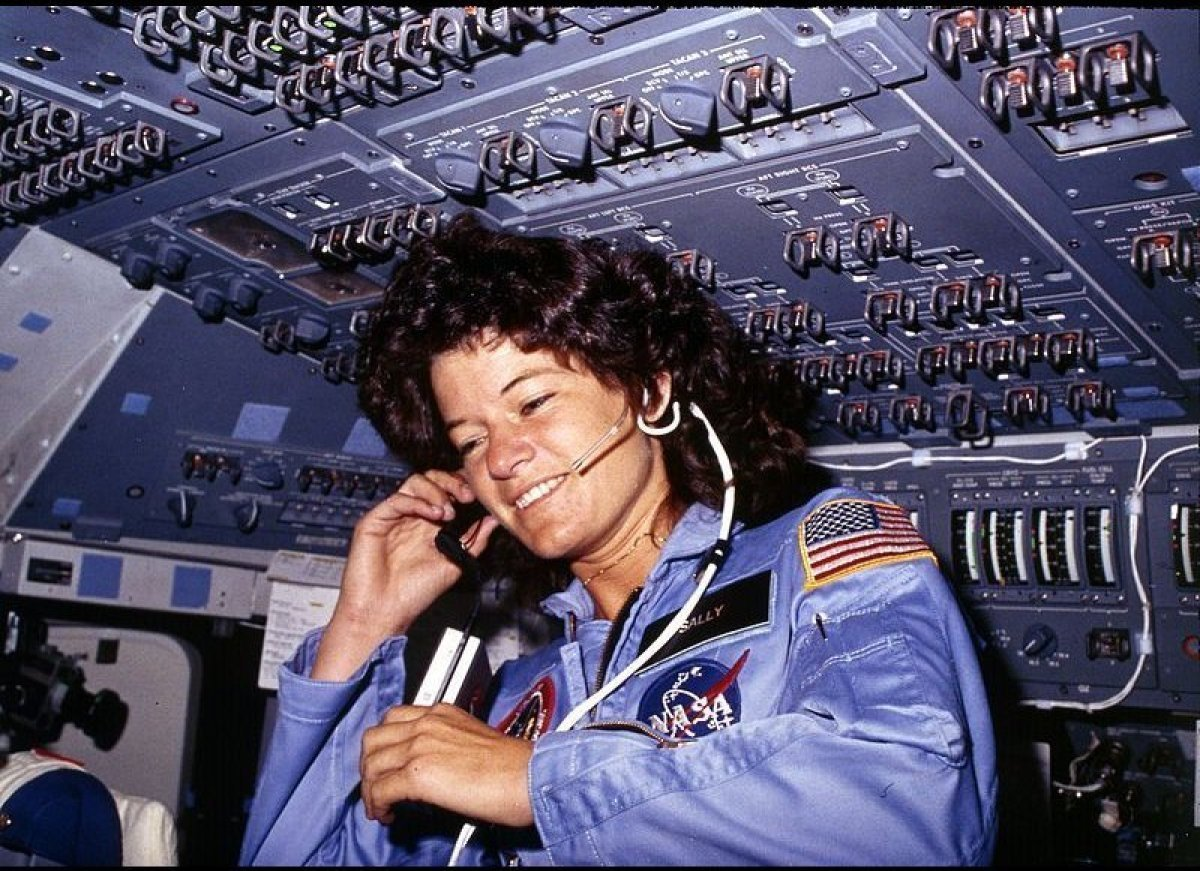 On June 18, 1983, Sally Ride became the first American woman in space. The California-born physicist, then 32, was also the y