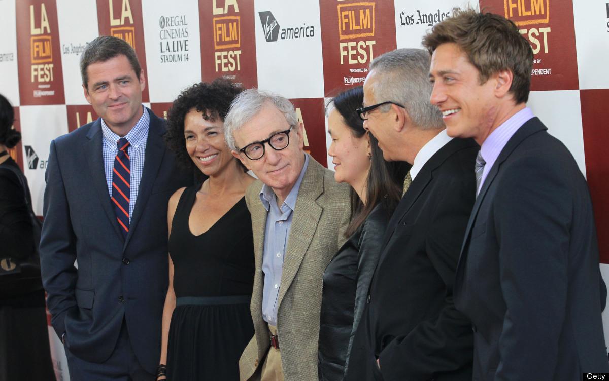 LOS ANGELES, CA - JUNE 14: (L-R) Co-president Josh Welsh, Los Angeles Film Festival Director, Stephanie Allain, director/prod