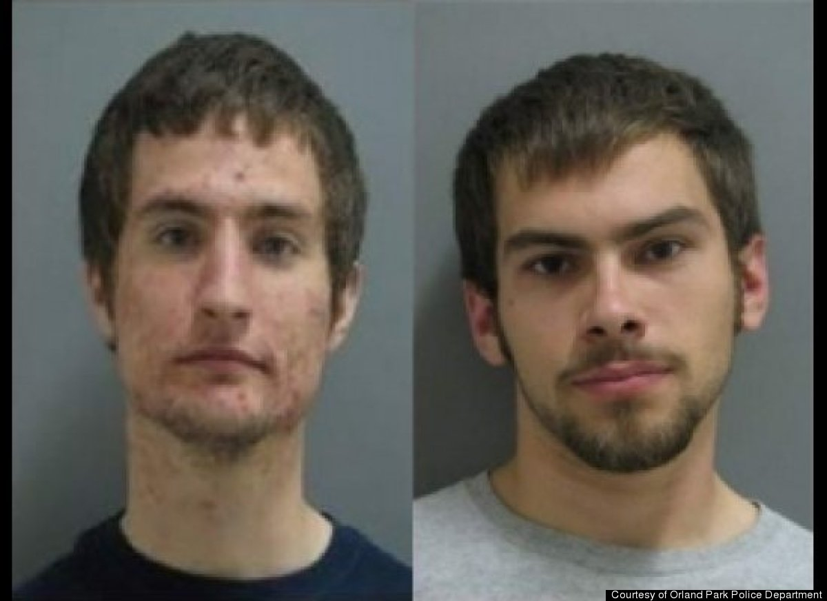 Police first noticed Joseph Grabenhofer and Pawel Loboz, both 19, collecting rocks at a construction site adjacent to a subur