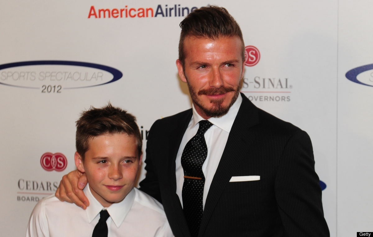 Before he was a father to sons Brooklyn, 12, Romeo, 9, Cruz, 6, and daughter Harper, 11 months, Beckham was one of the most a