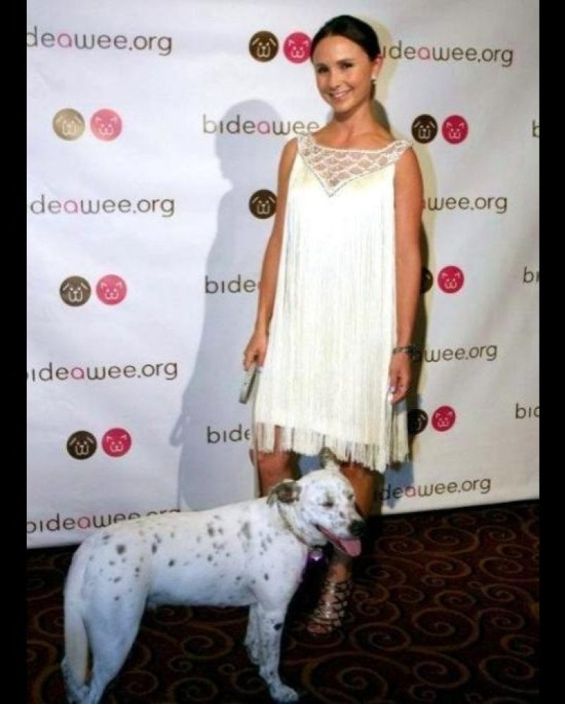 """Georgina Bloomberg attends the 2012 Bideawee Ball at Gotham Hall in NYC.  Photo by <a href=""""http://www.photographybyyoni.com/"""