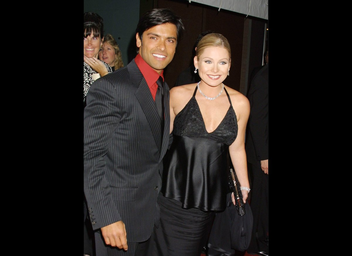 "During their 10-plus years on ""All My Children,"" Kelly Ripa and Mark Consuelos found love. Here's the couple, who married in"